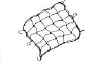 ATG Flexible Cargo Net – 35cm x 35cm with metal hooks
